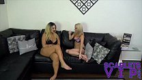 Roxie Rae And Scarlet Stone Whip And Flog Miles Striker