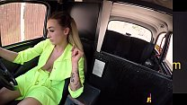 Female Fake Taxi Daisy Lee Rides a Big Cock in her Taxi