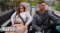 Gorgeous babe Ginebra Bellucci gets fucked in car with Tommy Cabrio - MOFOS