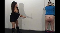 Mikaela's Cane - Hard and Heartless Caning by Merciless Girl