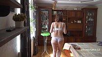Czech MILF Gadget - Naked ironing
