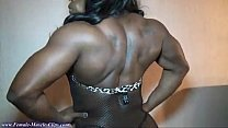 FemaleMuscleClips, Victoria Dominguez at Nationals 2012, part3 preview