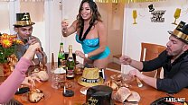 Thick Beauty Julianna Vega knows how to Celebrate the New Year