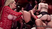 Orgy bdsm party with anal fisting