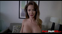 Perfect Body Big Tits MILF Step Mom Emily Addison Blackmailed Into Family Fucking Step Son POV