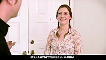 MyBabySittersClub - Teen Baby Sitter (Kinsley Eden) Caught and Fucked