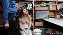Teen and dad busted for shoplifting but find a way out