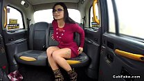 Amazing babe anal fucked in fake taxi