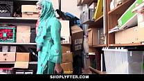 Shoplyfter- Hot Muslim Teen (Audrey Royal) Caught & Harassed