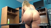 Mature blonde Skylar Rae is playing with her sweet twat