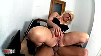 Hot chubby spanish slut hard asshole fucking