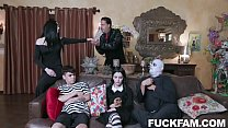 Kate Bloom, Audrey Noir Addams Family Orgy