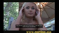Casting- Russian anal beauty slides it in with pleasure