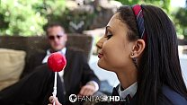 HD FantasyHD - Young college girl Ariana Marie is taught about sex