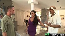 Blonde MILF loves big black dick Moxxie Maddron 1