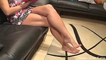 Nice barefoot play by my stepmom