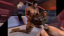 Mass Effect - Jack and Shepard Romance - Compilation