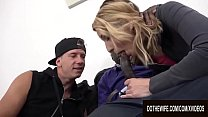 Wife Elissen Sweet Gets Ass Stretched by BBC and Meek Cuckold Lends a Hand