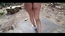 YOUNG BRUNETTE FUCK IN AN ABANDONED BUILDING – SHE LOVE TO GET A COCK WHILE OUTDOOR - MAKES HER CRAZY – HE CUMS INSIDE HER TIGHT PUSSY