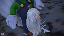 「Naughty Ghost Princess」by lovemax [MMD R18 Booette]