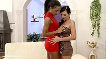Backdoor Bliss - by Sapphic Erotica lesbian sex with Izabella Ema