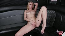 GIRLS GONE WILD - Young Blonde Amateur Masturbates On Our Party Bus!