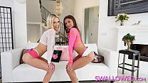 SWALLOWED Putting Jade Reign and Sky Pierce throats to the test