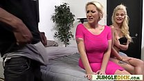 Stepmom & Stepdaughter vs. Big Black Cock - Alana Evans, Miss Dallas