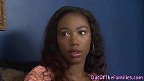 Ebony stepteen creamed