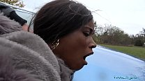 Public Agent British Ebony Queen Kiki Minaj Fucked Outside