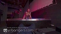 VR BANGERS Sexy tattooed stripper dancing before screw you