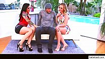 Harley Jade & Katrina Jade Threesome