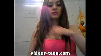 teen por la webcams mostrando