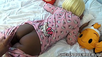 HD Slow Motion Slept Step Sister , In Pink Hello Kitty Pajamas , Brown Ass And Pussy Pulled Down By Pervert Step Brother , Jerking Off Big Dick On Her Big Innocent Butt Msnovember Reality Porn