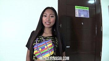 Cute Naive Asian Teen Tricked Into Fucking Boss on Camera