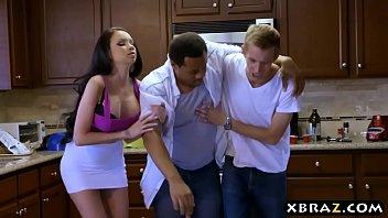 Huge tits girlfriend cheats on her p. boyfriend