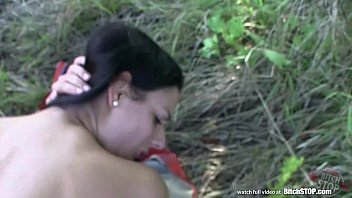 Bitch STOP - Pretty girl getting fucked wildly