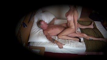 Cougar Christie caught on secret cam having an affair