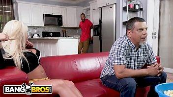 BANGBROS - Brandi Bae Loves Her Father's Hung Black Friends
