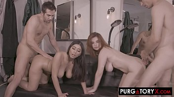 PURGATORYX Trim and a Shave Vol 1 Part 3 with Annabel Redd and Violet Myers