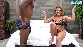 Camsoda - Brickzilla wel-cums latina Nicole Rey to his BBC