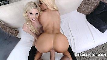 Petite Blondes get fucked hard - Piper Perri, Elsa Jean