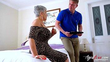 AgedLovE Mature Savana Fucked with Marc Kaye