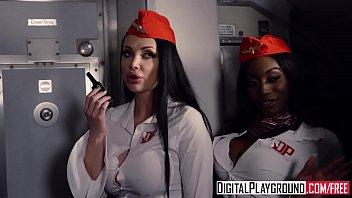 DigitalPlayground - Fly Girls Final Payload Scene 2 (Aletta Ocean, Nicolette Shea, Axel Aces, Ryan Ryder)
