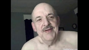 Old Daddybear Grandpa oldman likes being Filmed Swallowing Cum