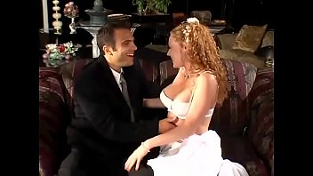 Salacious redhaired bride Audrey Hollander told her new wed that her devout wish was to get kicked with the left foot