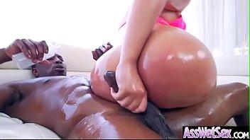 (Assh Lee) Slut Girl With Big Oiled Butt Get Hard Anal Sex movie-09