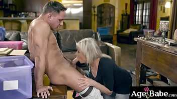Peyton Hall is so turned on by Brads flirting and advances that she cant resist anymore!