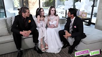 Jazmin Luv, Hazel Moore In Swapping Before The Wedding